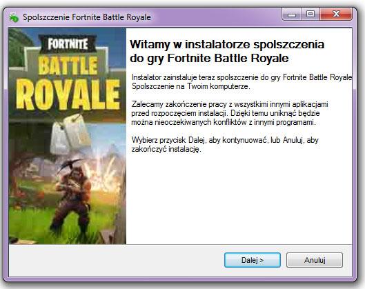 Fortnite Battle Royale spolszczenie