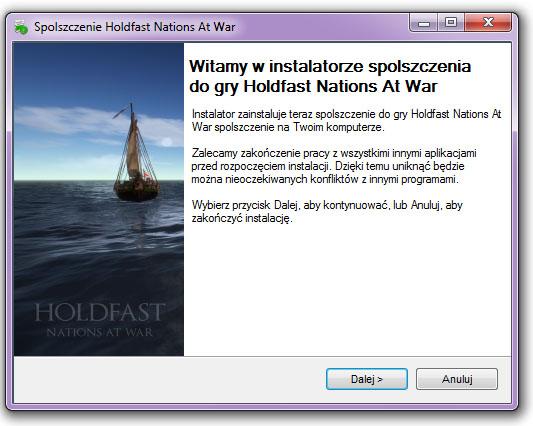 Holdfast Nations At War spolszczenie