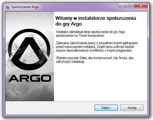 Argo spolszczenie