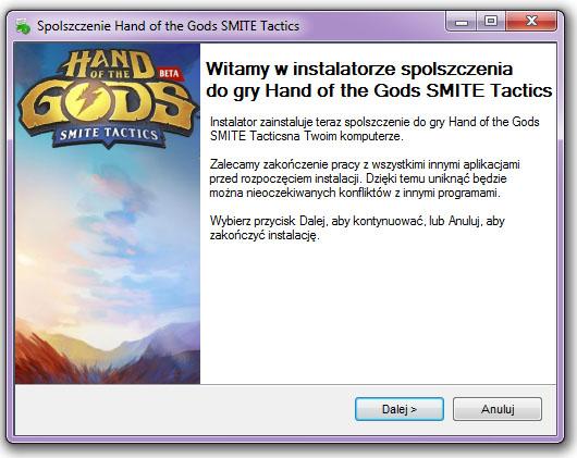 Hand of the Gods SMITE Tactics Spolszczenie