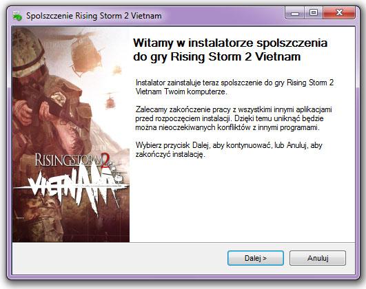 Rising Storm 2 Vietnam spolszczenie