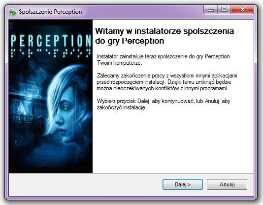Perception spolszczenie