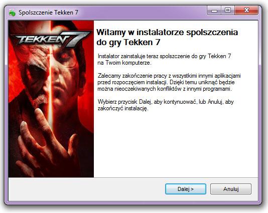 Tekken 7 spolszczenie