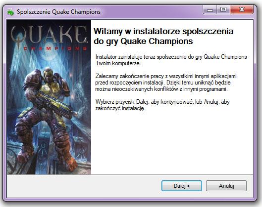 Quake Champions spolszczenie
