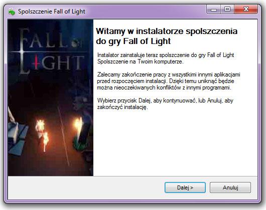 Fall of Light Spolszczenie