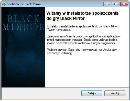 Black Mirror spolszczenie