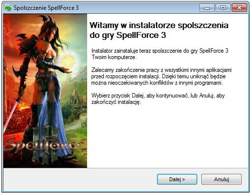 SpellForce 3 spolszczenie