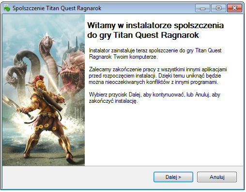 Titan Quest Ragnarok spolszczenie