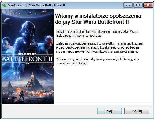 Star Wars Battlefront 2 spolszczenie