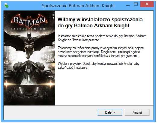 Batman Arkham Knight Spolszczenie