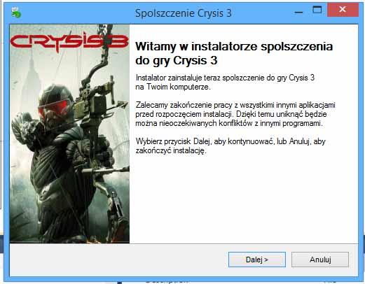 Crysis 3 Spolszczenie