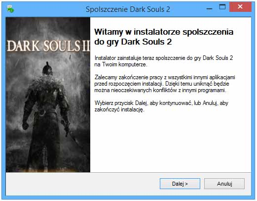 Dark Souls 2 Spolszczenie
