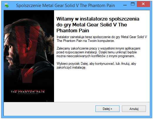 Metal Gear Solid V The Phantom Pain chomikuj