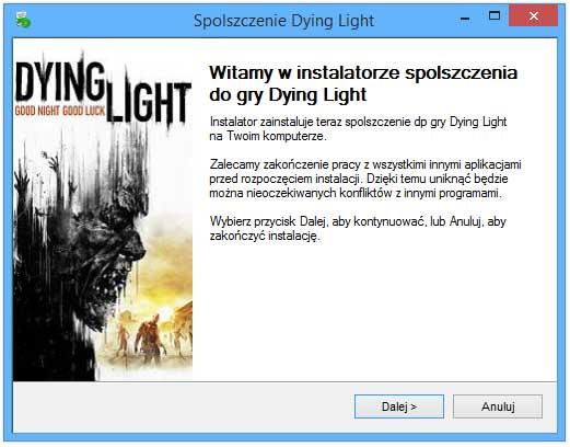 dying light pełna wersja