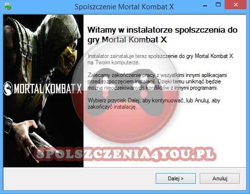 Mortal Kombat X Spolszczenie