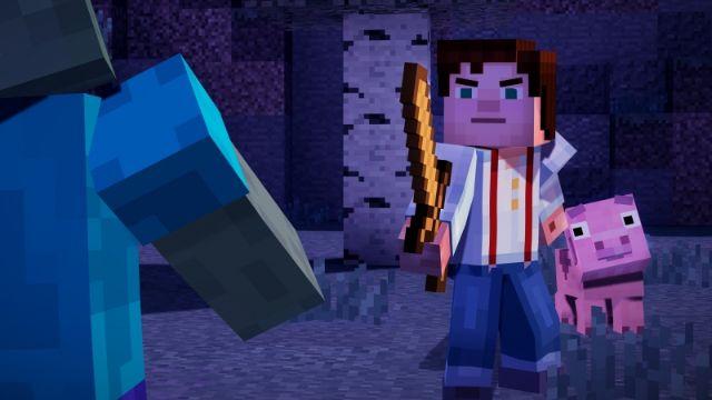 pobierz chomikuj Minecraft Story Mode